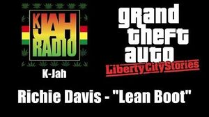 "GTA Liberty City Stories - K-Jah Richie Davis - ""Lean Boot"""