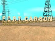 Fort Carson sign