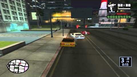 GTA San Andreas. Прохождение Гоночные соревнования (ЛС)
