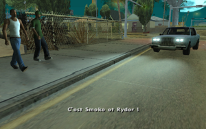 Reuniting the Families GTA San Andreas (sauvetage)