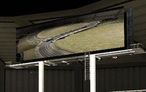 Экран на стадионе