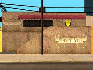Below the Belt Gym GTA San Andreas (extérieur)
