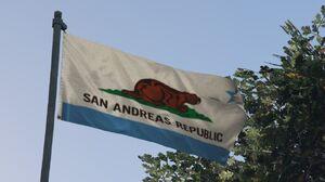 San Andreas Republic Flag