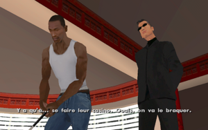 Explosive Situation GTA San Andreas (but)