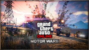 Guerre motorisée - GTA Online - Artwork