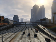 L'interstate 2 (Del Perro Fwy) GTA V