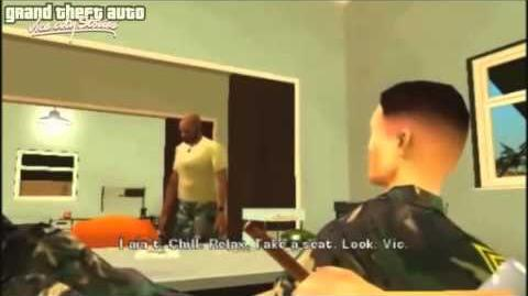 GTA Vice City Stories Opening Intro & Mission 1 - Soldier (PSP)