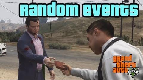 GTA 5 - Minden random esemény