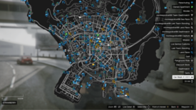 GTA Online enhanced Map