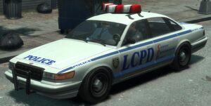 GTA 4 Police Cruser