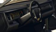 Baller deuxième génération vue intérieur GTA V