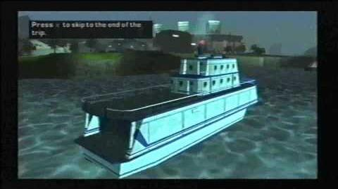 Grand Theft Auto Liberty City Stories (GTA LCS) Ferry Ride