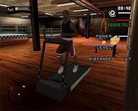 Gym-GTASA-treadmill