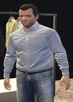 Ponsonbys (V - Bladoniebieska koszula)