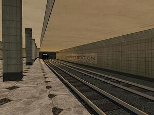 Market Station GTA San Andreas (train)
