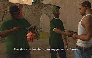 Tagging Up Turf GTA San Andreas (bombe)