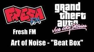 "GTA Vice City Stories - Fresh FM Art of Noise - ""Beat Box"""