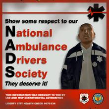 NADS-Plakat