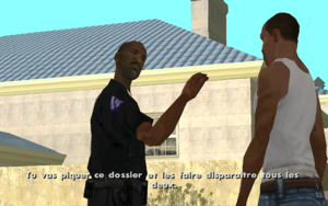 Misappropriation GTA San Andreas (objectif)
