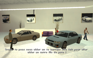 Test Drive GTA San Andreas (vendeur)