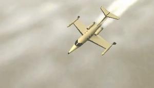 Shamal in Flight-CW