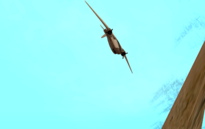 Dam and Blast GTA San Andreas (écrasement)