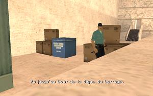 Dam and Blast GTA San Andreas (consigne)
