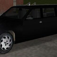 سيارة أفيري السوداء