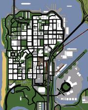 San Fierro (SA - mapa)