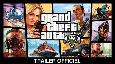 Grand Theft Auto V Trailer Officiel