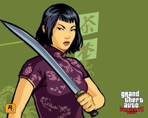 Artworks GTA ChinaTown Wars Ling Shan 01