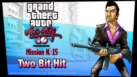 GTA Vice City - iPad Walkthrough - Mission 15 - Two Bit Hit