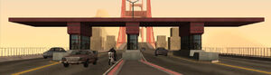 Gant Bridge GTA San Andreas (péage)