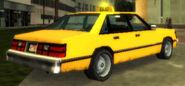 Taxi vue-arrière GTAVCS