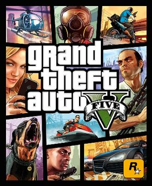 GTAV Official Cover Art