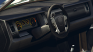 Baller première génération vue intérieur GTA V