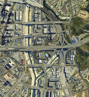 La Mesa - GTA V (image satellite)