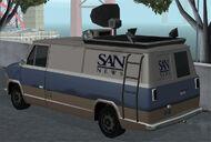Newsvan GTA San Andreas (vue arrière)