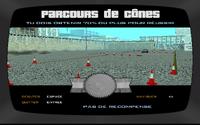 École de conduite GTA San Andreas (parcours de cônes)