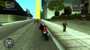 GTA Liberty City Stories — Walkthrough — Street Race — Torrington TT