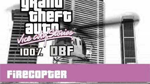 GTA VCS 100% - Fire Copter