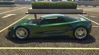 Itali GTB Custom GTA Online (côté gauche)