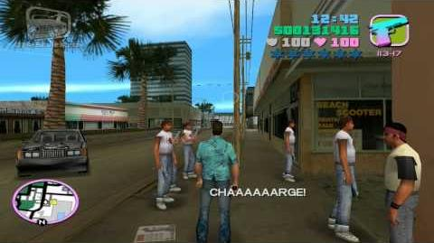 GTA Vice City - Walkthrough - Mission -31 - Cannon Fodder (HD)
