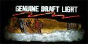 Genuine Draft Light (logo)