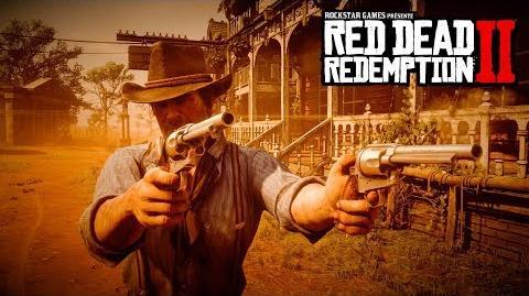 Red Dead Redemption 2 vidéo de gameplay officielle, deuxième partie