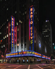 Radio City Music Hall Panorama