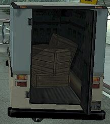 Boxville GTA San Andreas (T-Bone Mendez, vue arrière)