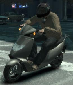 Faggio GTA IV