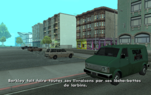 Supply Lines… GTA San Andreas (cible)