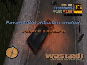Wasted-GTA3ParamedicMission
